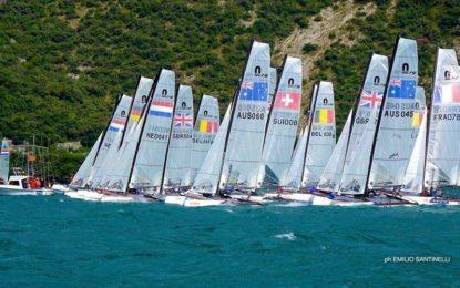 Follow the Nacra 15 event in Lake Garda