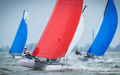 Windy sailing conditions during final day in Medemblik