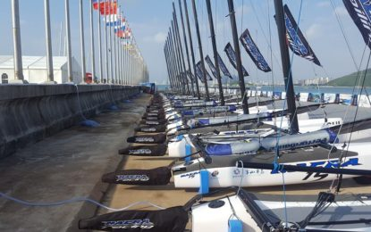 All sailors in Sanya ready to prepare racing