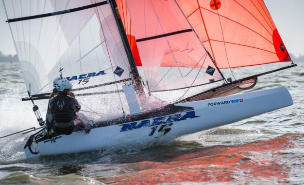 FORWARD WIP BECOMES OFFICIAL TECHNICAL GEAR PARTNER OF NACRA 15