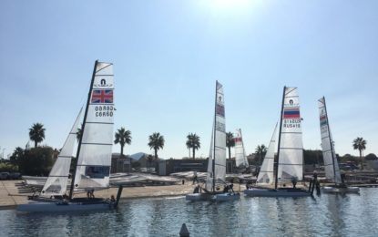Nacra 15 Open World Championships for 2019, Marseille, October 19th – 25th