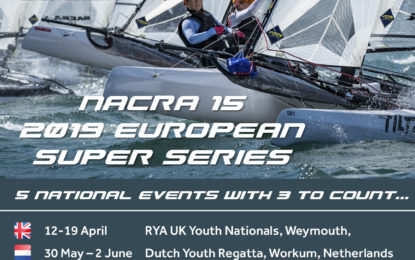 Are you also participating the 2019 European Super Series ?