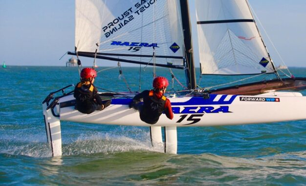 Nacra 15 FCS (foiling) Championships 26 & 27 October in Marseille