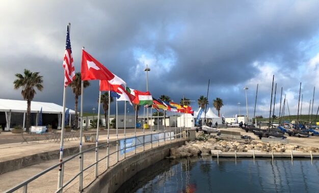 Nacra 15 Worlds in Marseille almost ready to start sailing