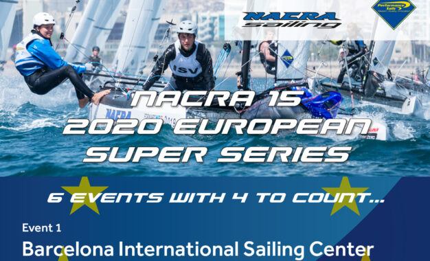 Registration open 1st European Super Series event 2020: Barcelona
