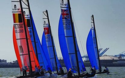 product update Nacra 15 masts