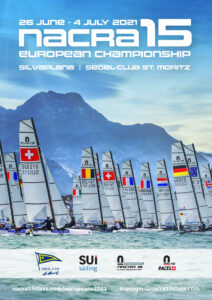 NACRA_15_Open European Championships 2021 Silvaplana graphic